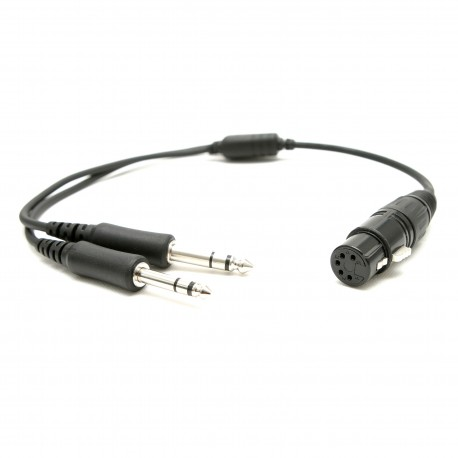 Aviadion headsets adapter XLR to PJ