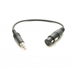 Aviadion headsets adapter XLR to U174U
