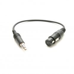 Aviadion headsets adapter XLR to U174U
