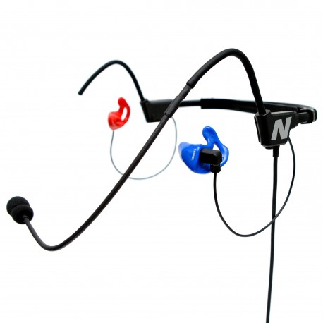 Ultra lekkie słuchawki lotnicze MTM (made-to-measure)