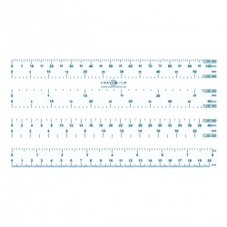 Chart ruler - short