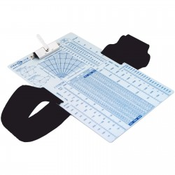 IFR clipboard with leg strap