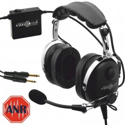 Deluxe aviation headset with ANR