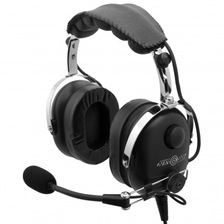Deluxe aviation headset