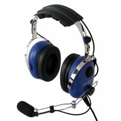 Classic aviation headset