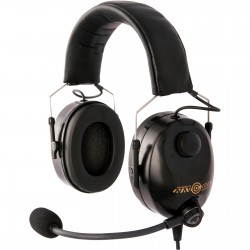 Light weight, compact aviation headset version deluxe