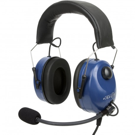 Compact aviation headset