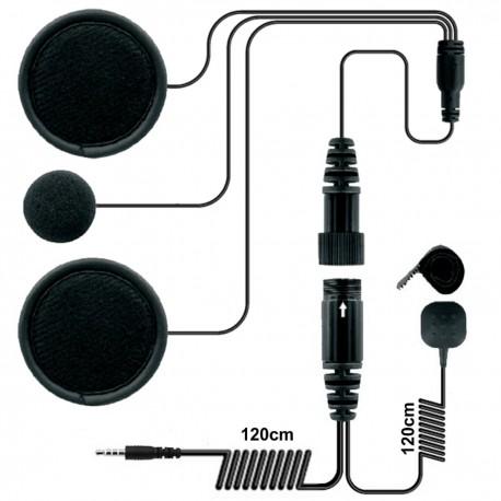 Zestaw słuchawkowy do kasku zamkniętego