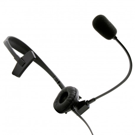 Headset with microphone and VOX function