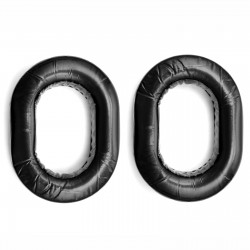 Gel ear pads for aviation headsets