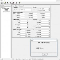 Aplikacja do programowania radiostacji NC-33M