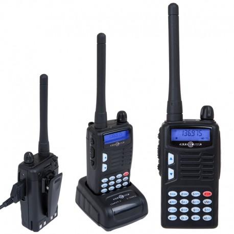 TK-750mkII radio pre programmed for marine band