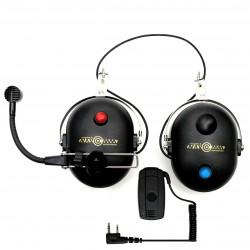Bezprzewodowe słuchawki do kasku z Bluetooth