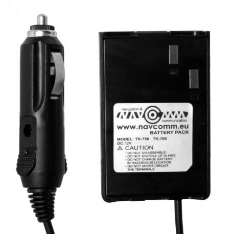 Battery eliminator for TK-7xx series