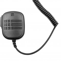 Speaker microphone with PTT