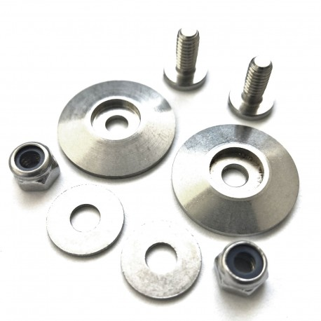 A set of screws fixing headphones NC300 series for PPG helmet