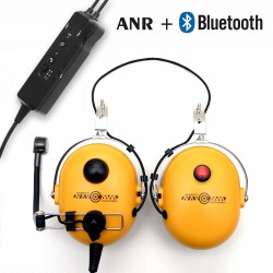 Helmet headsets deluxe with ANR and Bluetooth