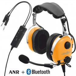 Deluxe aviation headset with ANR and Bluetooth