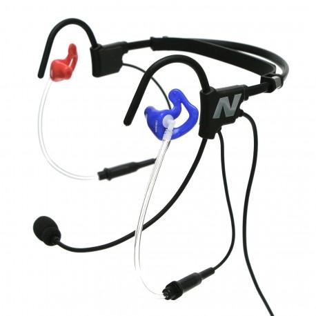 Ultralekkie słuchawki lotnicze MTM (made-to-measure)