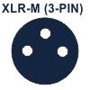XLR-M (3-PIN)